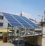 نصب نیروگاه خورشیدی با ظرفيت توليد  20 كيلووات انرژي برق پاك،  بربام دفترمركزي شركت گام- تهران
