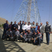 Successful Typical Testing of the 400 kV Single-Circuit Tower (KMAG); Jiroft-Bam Line