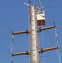Successful Typical Test of the 66kV Telescopic Tower (TL2 -75); Lar 3