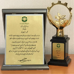 کسب نشان زرین صنعت سبز کشوری سال 99